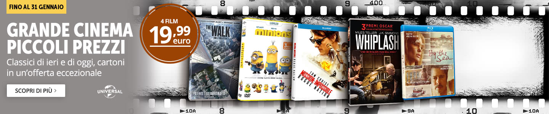 4 film a 19,99 euro!