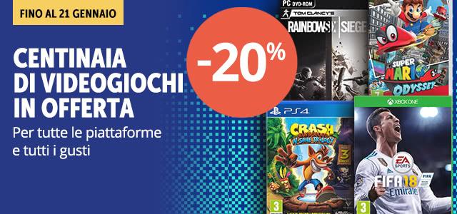 Videogiochi -20%