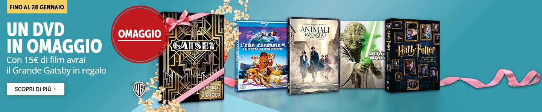 DVD+CD Il grande Gatsby in regalo!