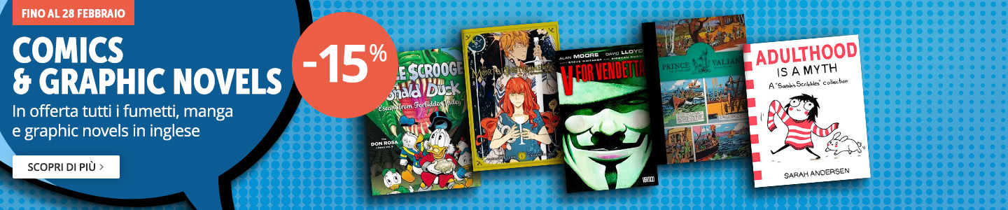 Comics & Graphic Novels -15%