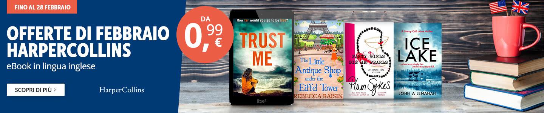 eBooK HarperCollins da 0,99 euro
