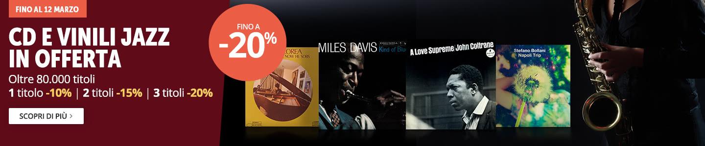 Musica Jazz fino a -20%