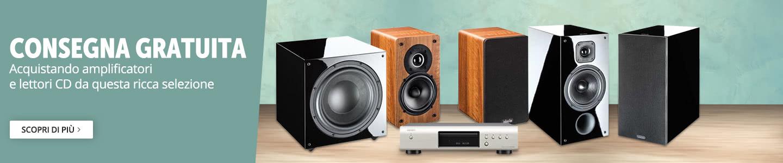 Audio in consegna gratuita