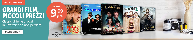 2 DVD a 9,99 euro