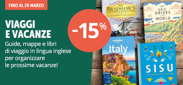 Guide e libri di viaggio -15%