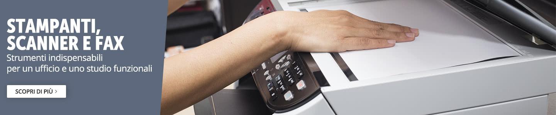 Stampanti, scanner, fax