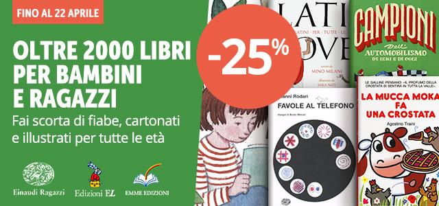 Einaudi Ragazzi, Emme, EL -25%
