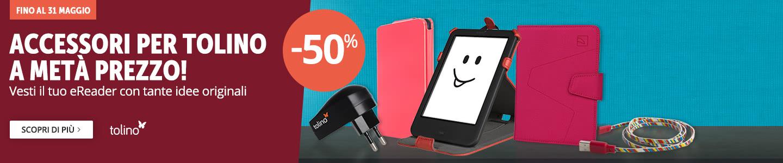 Tanti accessori -50%