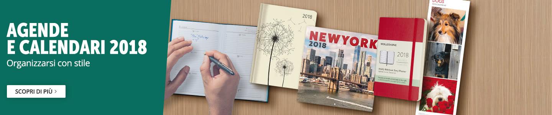 Calendari e agende 2018 -50%
