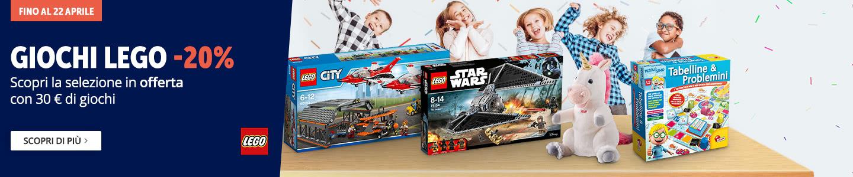 Lego in offerta al -20%