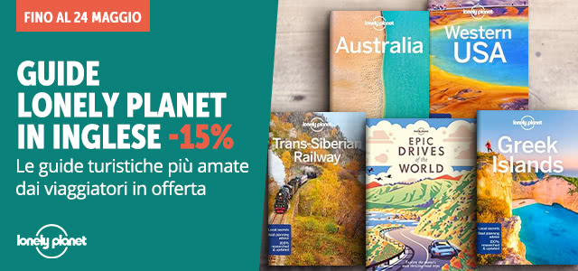 Lonely Planet in inglese -15%