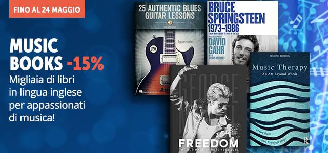 Music Books -15%