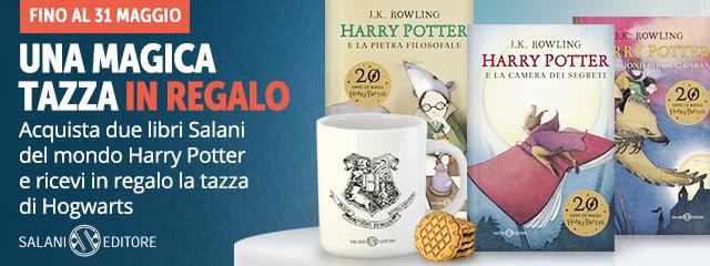 Tazza di Hogwarts in regalo!
