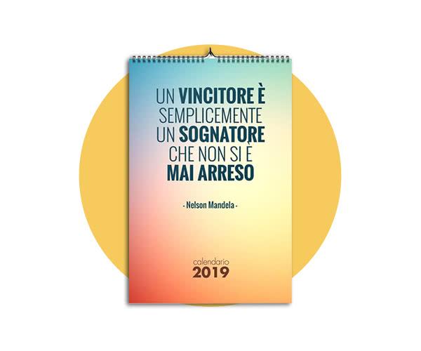 Calendario Giornaliero Con Frasi.Agende E Calendari 2019