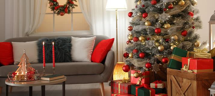 Accessori Natale.Addobbi Natalizi Alberi Di Natale Decorazioni E Luci Ibs