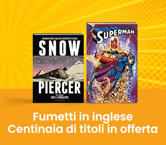 Comics& Graphic Novels in offerta