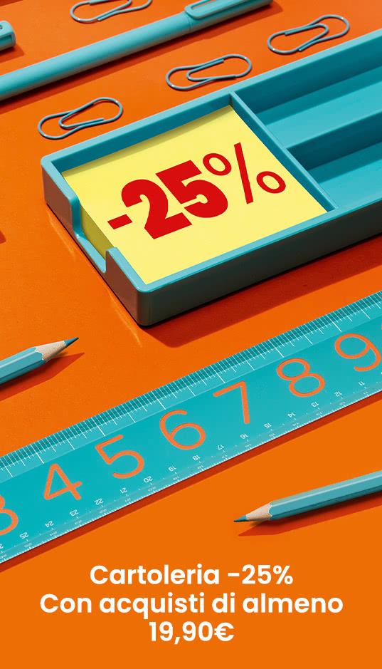 Cartoleria -25%
