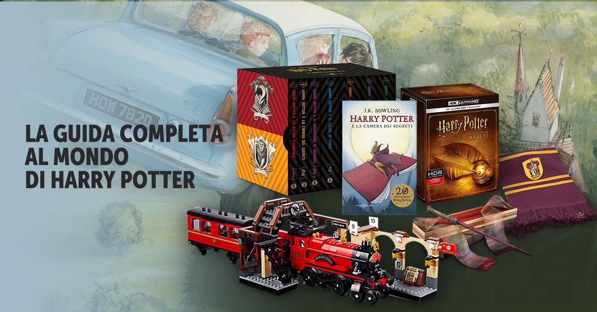 Harry Potter Camera Segreti Illustrato : Harry potter la guida completa film libri giochi