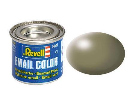 Vernice a Smalto Revell Email Color Greyish Green Silk - 2