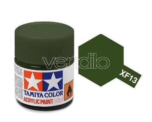 Mini Xf-13 Ja Green 10Ml Acrylic Color per Modellismo Tamiya - 2