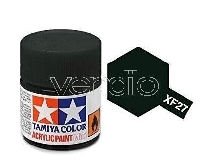 Mini Xf-27 Black Green 10Ml Colore Acrylic per Modellismo Tamiya