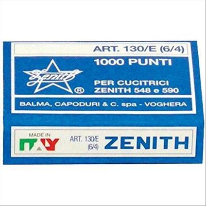 Zenith 788297 Punti Metallici Universali Zenith, 1 Confezione da 1000 Pezzi