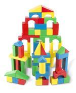 Melissa & Doug 100 Piece Wood Blocks Set 100 pezzo