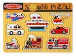 Vehicles Sound Puzzle Puzzle con formine 8 pezzo(i)
