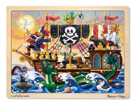 Pirate Adventure Jigsaw(48 pc)