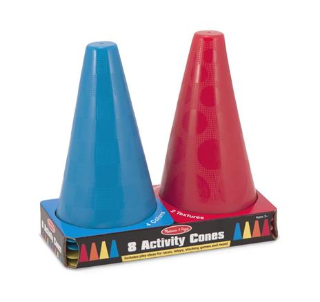 Activity Cones Set of 8 - 3