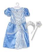 Melissa & Doug 18517 Costume da Principessa Reale, Taglia 3 6 Anni, Multicolore