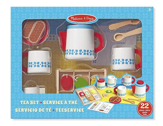 Melissa & Doug Wooden Steep And Serve Tea Set - 7