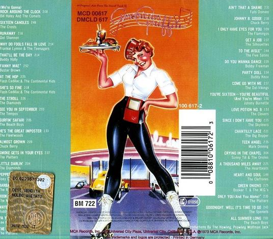American Graffiti (Colonna sonora) - CD Audio - 2