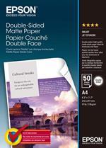 Epson Double-Sided Matte Paper - A4 - 50 Fogli