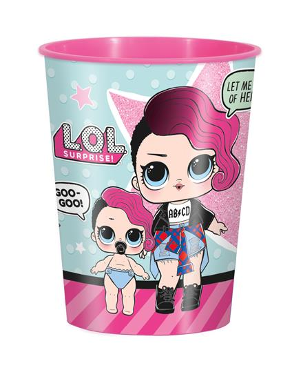 LOL Surprise! Bicchiere Plastica 350 Ml