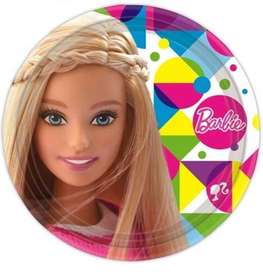 Barbie Sparkle. 8 Piatti 23 Cm - 2