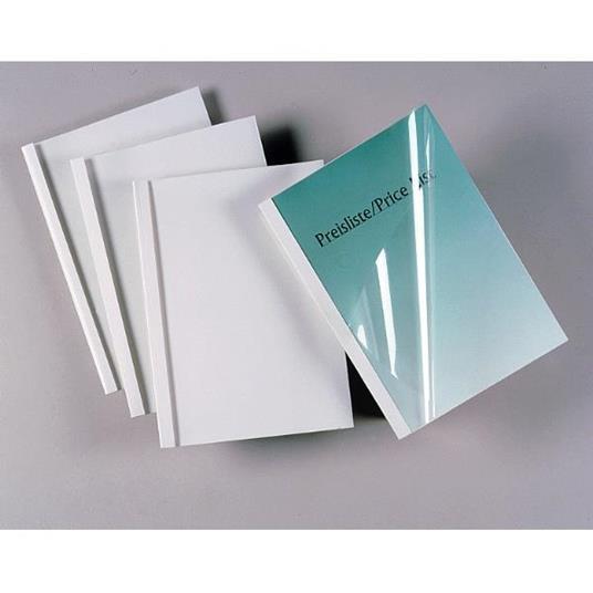 GBC Copertine per rilegatura termica Standard 3 mm bianche (100)