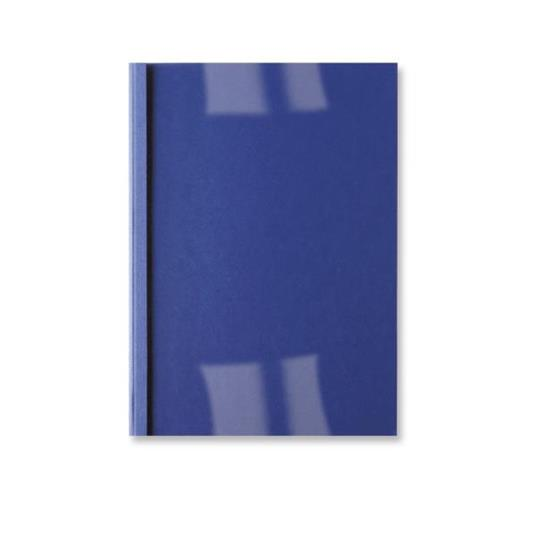 GBC Copertine rilegatura termica LeatherGrain 1,5mm blu royal