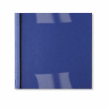 GBC Copertine rilegatura termica LeatherGrain 1,5mm blu royal - 2