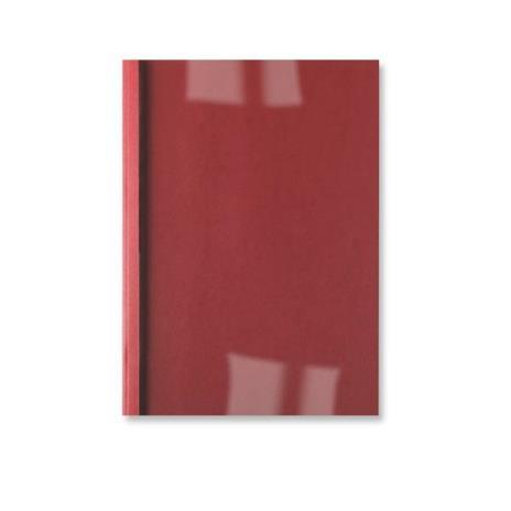 GBC Copertine rilegatura termica LeatherGrain 1,5 mm rosse (100)