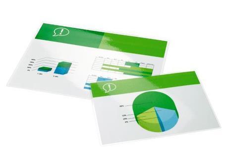 GBC Pouch per plastificazione documenti A2 2x125mic lucide (100)