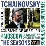 Serenata in Do Maggiore Op.48, Le Stagioni Op.37b (Arr. a. Gauk) - CD Audio di Pyotr Ilyich Tchaikovsky