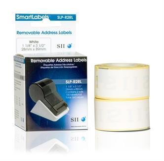 Seiko SLP-R2RL Bianco Etichetta per stampante autoadesiva