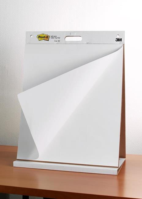 3M Post-it. Blocco Da Parete 20 Fogli In Carta Riciclata Con Adesivo Rimovibile Super Sticky