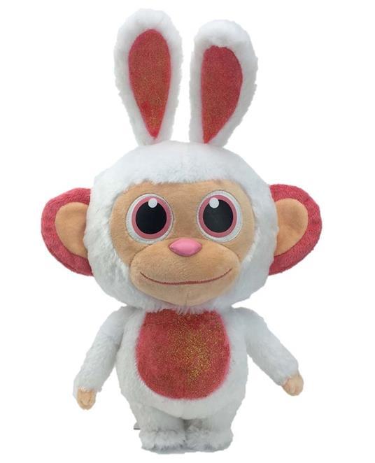 Wonderpark. Bunny Peluche 36 Cm Con Profumo Di Zucchero Filato