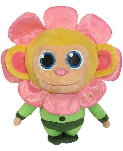 Wonderpark. Flower Peluche 36 Cm Con Profumo Di Zucchero Filato