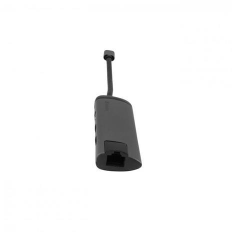 Verbatim 49141 hub di interfaccia USB 3.2 Gen 1 (3.1 Gen 1) Type-C 1000 Mbit/s Nero, Argento - 2