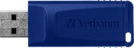 Verbatim Slider - Memoria USB - 3x16 GB, Blu, Rosso, Verde - 3