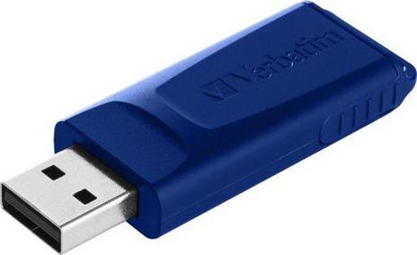 Verbatim Slider - Memoria USB - 3x16 GB, Blu, Rosso, Verde - 4