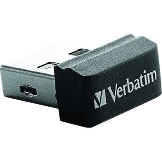 Verbatim Nano - Memoria USB da 32 GB con Adattatore Micro USB - Nero